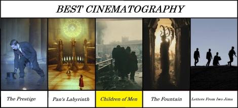 best cinematography 2006